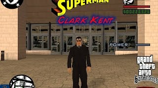 Скачать HOW TO DOWNLOAD INSTALL GTA SAN ANDREAS SUPERMAN MOD WORKING
