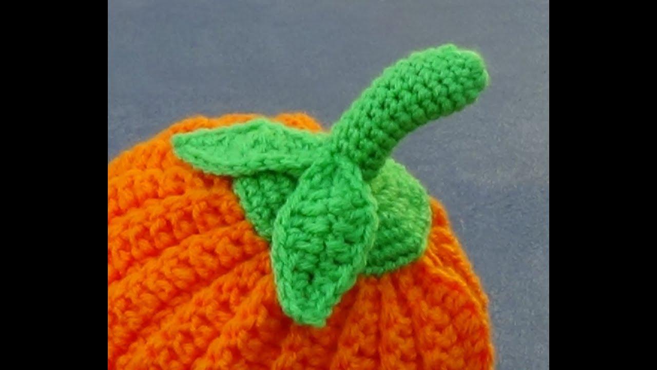Pumpkin Top Crochet Tutorial - YouTube