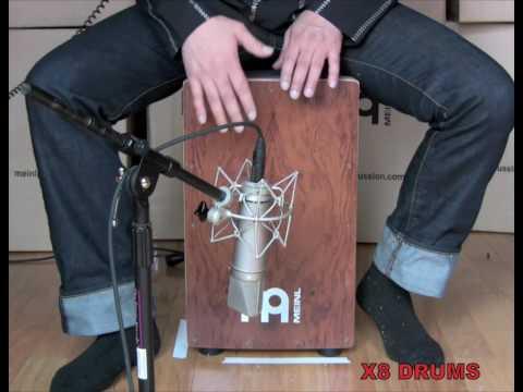 Meinl Ergo-Shape String Cajon Demo by Jimmy Lopez