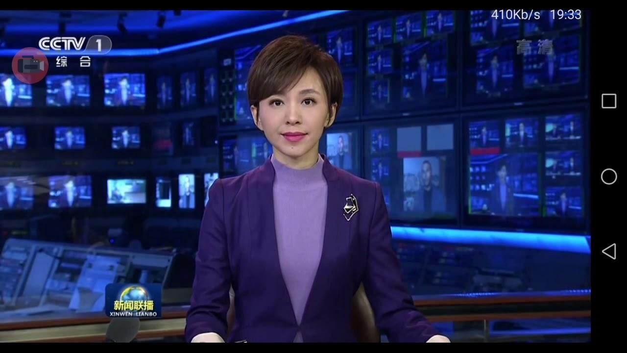 2019114 CCTV1 中國中央電視臺綜合頻道 1900晚間新聞 主播歐陽夏丹播報片段 - YouTube