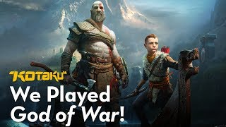 We Played God of War (2018)!