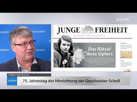 Ein Blick in die neue JF (08/2018): Sophie Scholl - Das Rätsel ihres Opfers