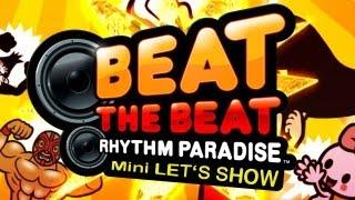 Nintendo's [Beat the Beat - Rhythm Paradise] für die Wii