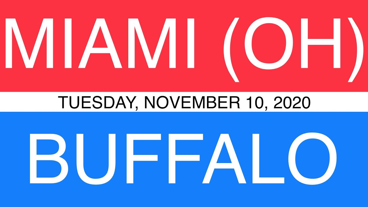 Miami oh at buffalo ncaa betting prediction sports betting in pa