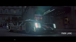 Behind the scenes with the 919 Hybrid & Panamera 4 E-Hybrid in London