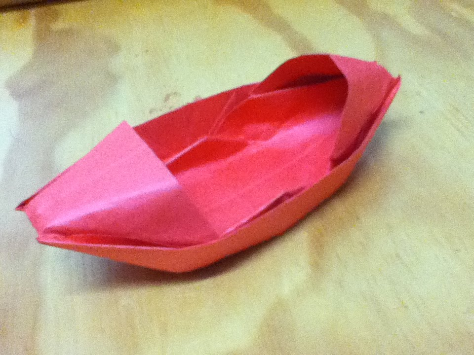 How To Make An Origami Boat Paper Sampan Or Motorboat Step By
