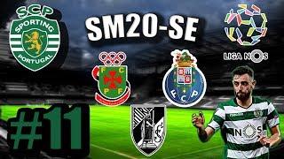 SM20 SE Карьера за Спортинг Лиссабон 11 Полуфинал Кубка Португалии Матч с Порту