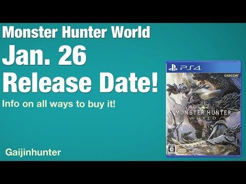 Monster Hunter World: Release Date and Editions