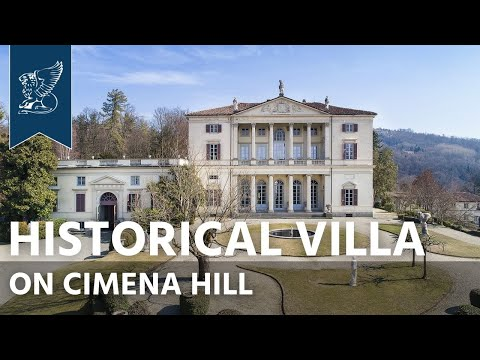 Exclusive historical villa for sale near Turin | Piedmont, Italy - Ref. 3847