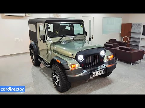 Mahindra Thar 4x4 CRDe 2018 | Thar 2018 | Thar Accessories| Interior and Exterior | Real-life review