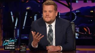 James Corden's Message to Manchester by : The Late Late Show with James Corden