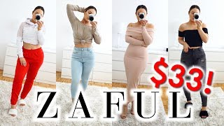ZAFUL TRY ON HAUL UNDER $33! - Outfits On A Budget screenshot 3