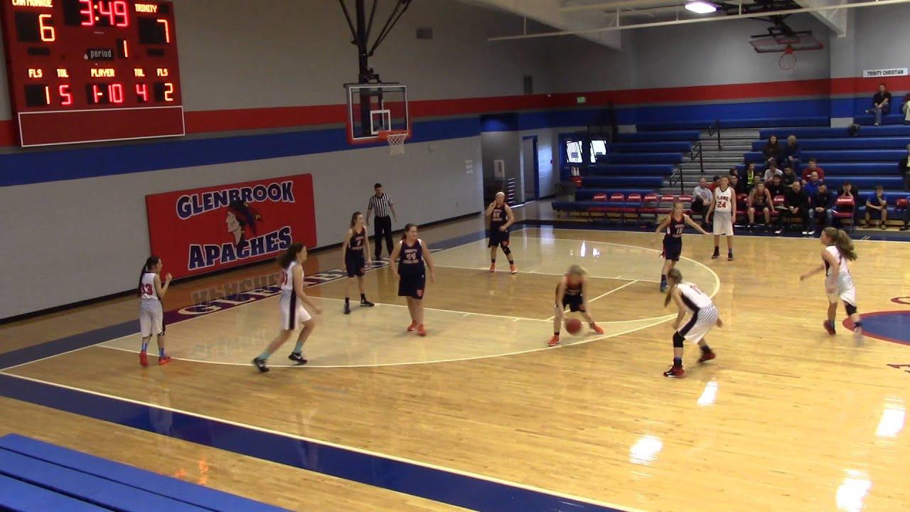 High School Basketball Games CHA vs Trinity Christi...
