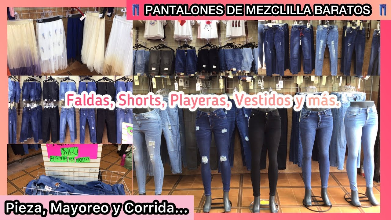 Pantalones De Mezclilla Baratos Y Bonitos Centro Cdmx Precios Para Hacer Negocio Jeans De Moda Youtube