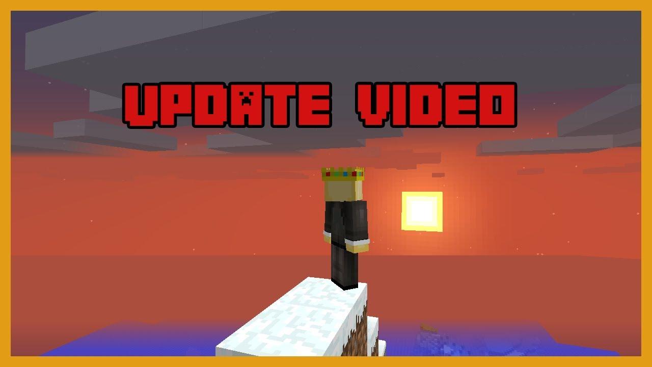 An update video...