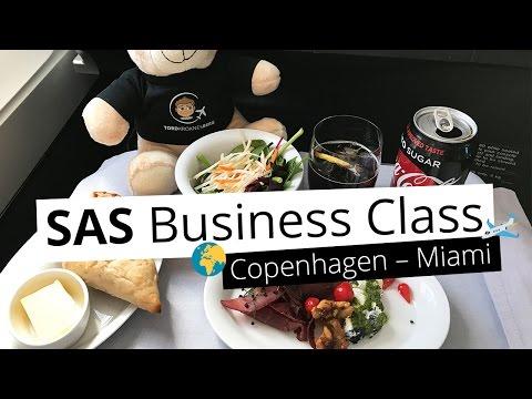 REVIEW: SAS Business Class from Copenhagen to Miami