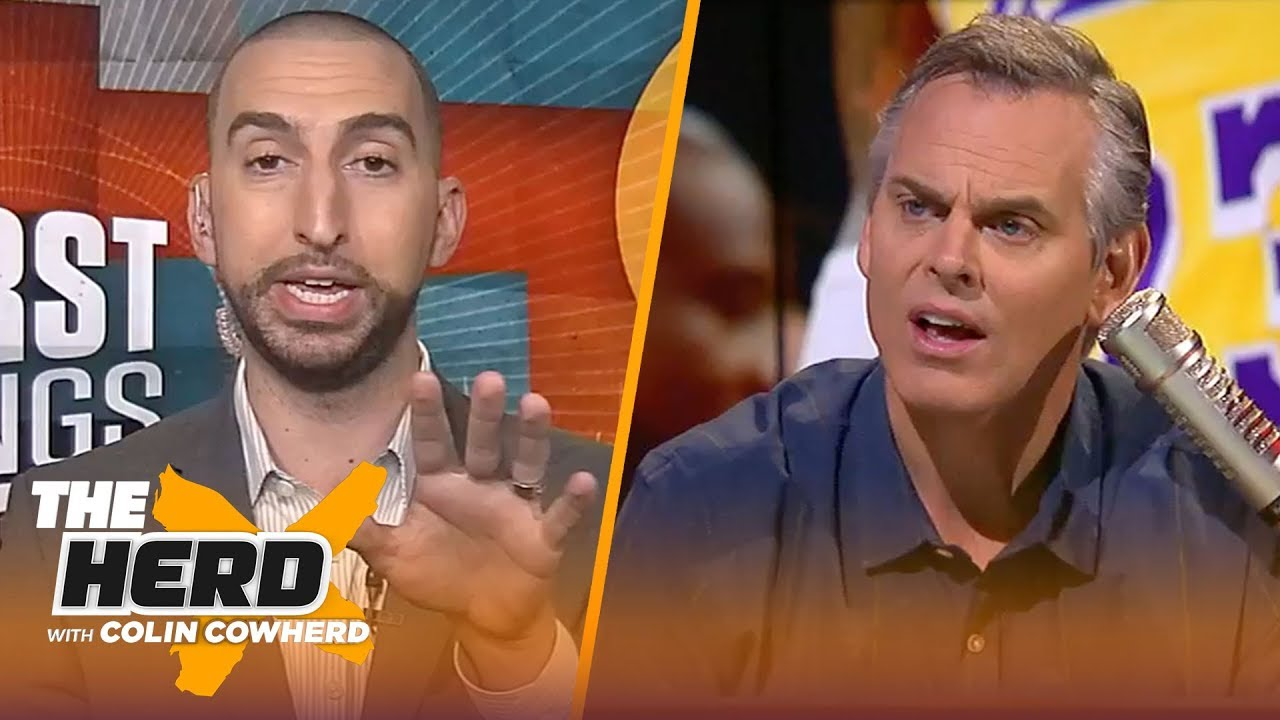 nick-wright-on-klay-s-comments-about-lebron-colin-s-support-of-obj-the-herd