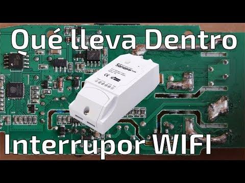 ¿Qué tiene dentro el Monitor Interruptor Wifi Sonoff Pow?