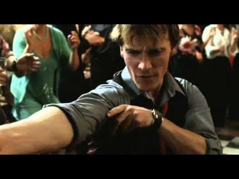 Michael Fassbender dancing