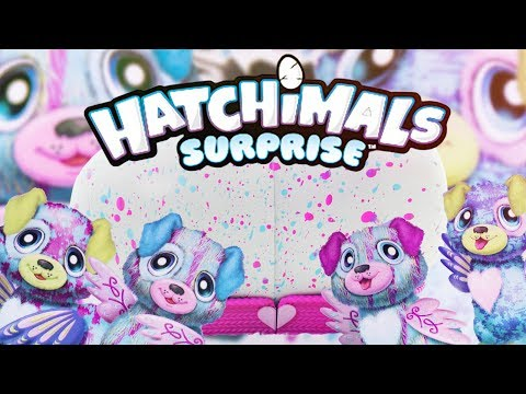 Hatchimals Surprise TWINS Puppadee 2017 Opening | Toys R Us Exclusive | Review | H5Kids
