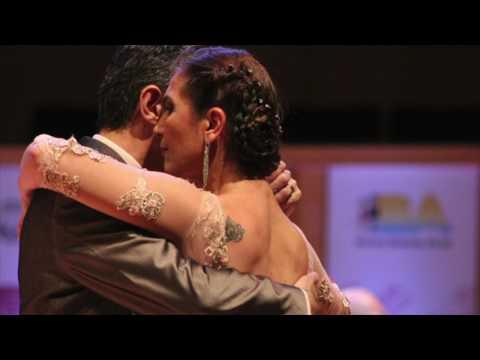 Sub-Campeones Tango Categ. Senior 2017, Andrea Fernandez Acerbi y Eduardo Arias