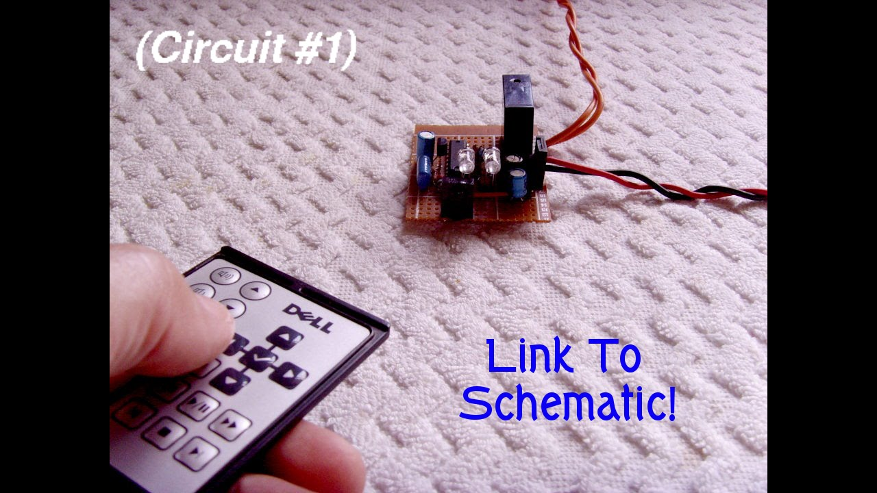Turn Appliances On Off With Any Remote Control Youtube Simple Dc Motor Circuit Http Wwwsimplecircuitsandprojects