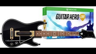 Распаковка Guitar Hero Live BUNDLE XBOX ONE!