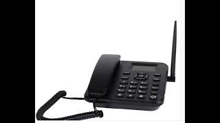 как настроить функцию фиксированного и быстрого набора  на стационарных GSM телефонах Sertec