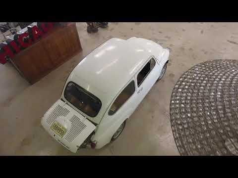 1960 Abarth 1000 FIAT 600 Italian Euro tuner barn find twin cam racer