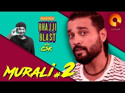 Murali Vijay Part 2 | Quick Heal Bhajji Blast With CSK | QuPlayTV