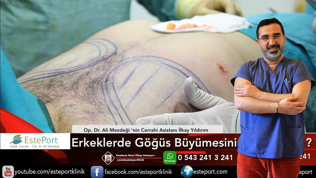 Erkekte Göğüste Şişlik