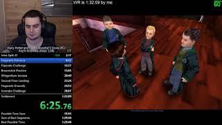 Harry Potter 1 (PC) Glitchless speedrun PB/WR [1:29:46]