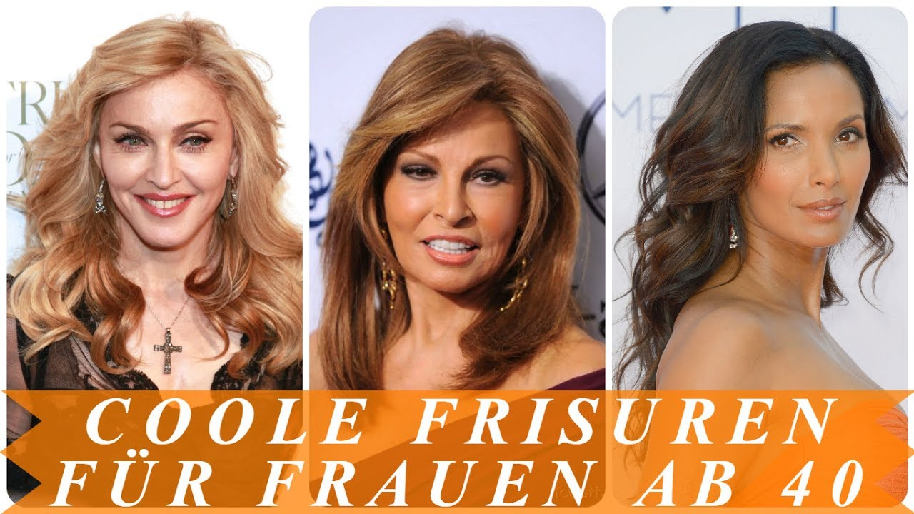 Coole Frisuren Für Frauen Ab 40 Youtube
