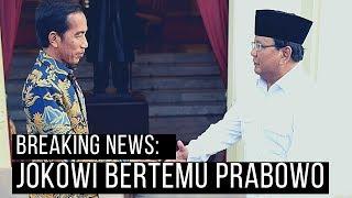 [LIVE] BREAKING NEWS : Pertama Kali, Jokowi Bertemu Prabowo Usai Pilpres 2019