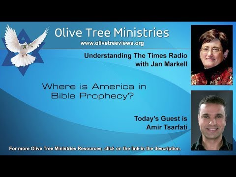 """Listen to Amir's teaching """"Where is America in Bible Prophecy"""""""