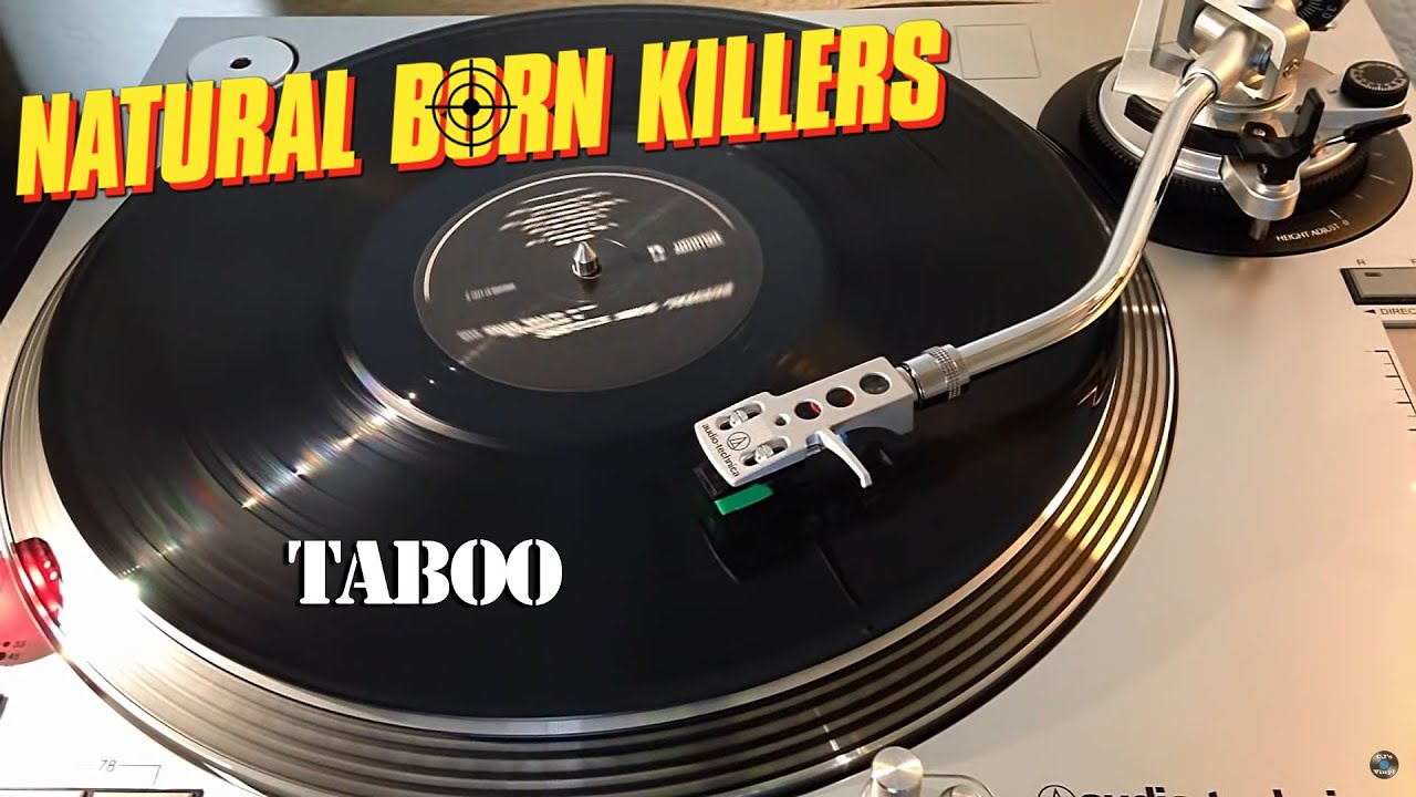 Natural Born Killers Ost Peter Gabriel Taboo Vinyl