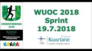 WUOC 2018 Sprint - Kuortane