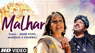Malhar New Video Song | Mame Khan, Manesha A Agarwal | Latest Video Song 2021