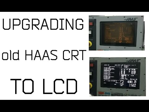 Mazak industrial monitor replacement to VGA XVGA LCD CRT Video Converter