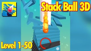 Stack Ball 3D Level 1-50 Walkthrough