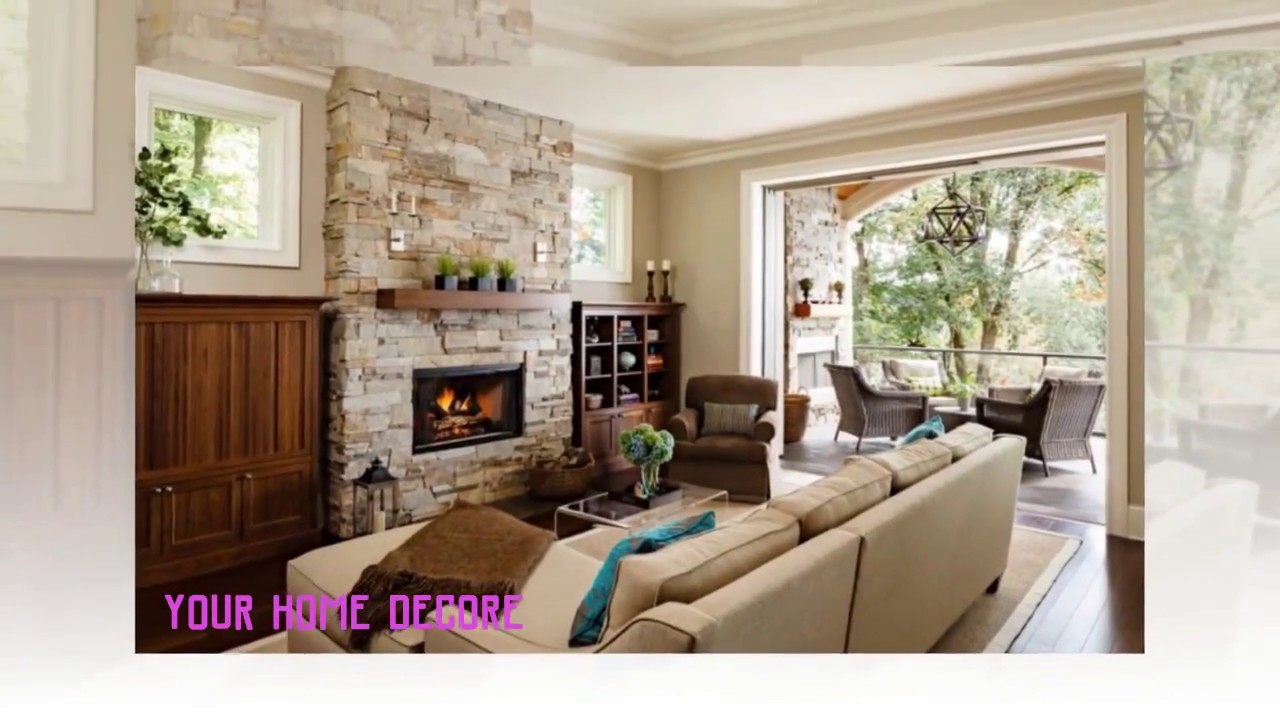 64 Best modern family room with fireplace in 2018
