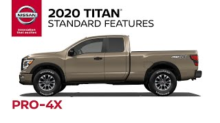 homepage tile video photo for 2020 Nissan Titan PRO-4X Walkaround & Review