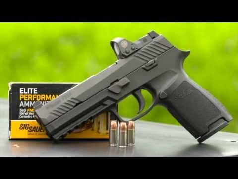 Gallery of guns tv sig sauer p320 rx with romeo 1 red dot sight