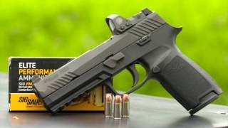Gallery of Guns TV - Sig Sauer P320 RX with Romeo 1 red dot sight