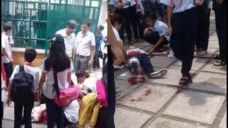 Nữ sinh lớp 9 mang theo dao lên lớp rồi đâm trúng 2 bạn gái cùng trường vì mâu thuẫn