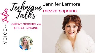 Jennifer Larmore discusses solidifying technique through emotion
