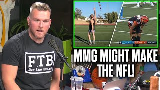 """Pat McAfee Reacts To MMG's """"Making All The Kicks NFL Kickers Shanked... Pt. 2"""""""