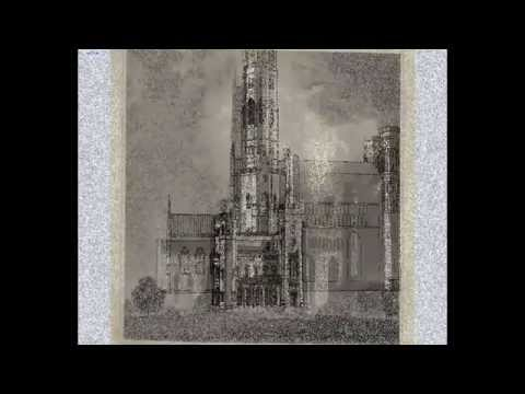 Fonthill Abbey, Wiltshire, UK in Rhino 3D (William Beckford)