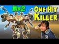The One Hit Killer ARES Mk2 Overpowered War Robots Gameplay WR