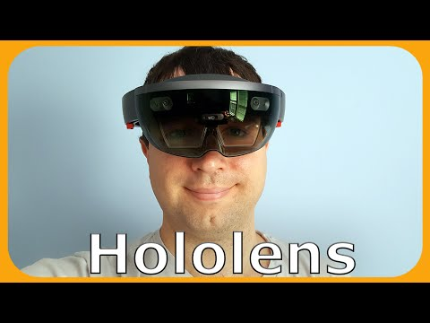 Playing with Microsoft Hololens